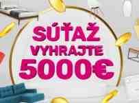 Vyhrajte 5000€ na nákup na temponabytok.sk