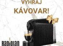Vyhrajte automatický kávovar od RadioLANu