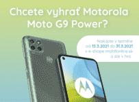Súťaž o Motorola Moto G9 Power