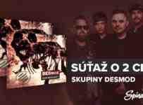 Súťaž o 2 CD skupiny DESmod