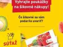 Súťaž o BILLA poukážky na šikovné nákupy v hodnote 30€