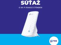 Súťaž o Wi-Fi range extender