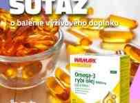 Súťaž o balenie Omega-3 rybí olej