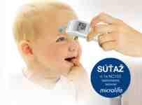 Súťaž o bezkontaktný teplomer Microlife NC150