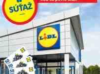 Súťaž o darčekovú kartu v hodnote 50 € na nákup v Lidli