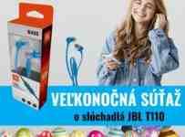 Súťaž o fantastické slúchadlá JBL T110