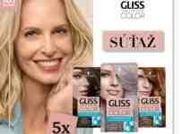 Súťaž o farby na vlasy GLISS COLOR podľa vlastného výberu