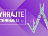 Súťaž o multifunkčný nožík Leatherman Micra
