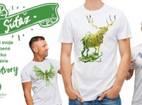 Súťaž o tričko podľa vlastného výberu