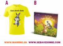 Súťaž o tričko so zajkom alebo knižku