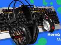 Súťaž s rádiom BB FM o hernú sadu klávesnice a myši od značky MARVO