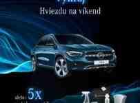 Vyhrajte víkend s GLA alebo 5x autokozmetiku od Mercedes-Benz