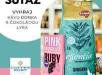 Súťaž o Kávu a Ružovú čokoládu