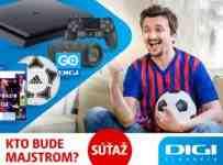 Súťaž o Playstation 4, JBL reprák, FIFU 21, loptu a ročné DIGI GO