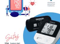 Súťaž o klinicky overený tlakomer OMRON v hodnote 80€