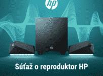 Súťaž o nové reproduktory HP Gaming Speaker X1000