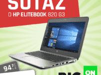 Súťaž o špičkový notebook HP EliteBook 820 G3