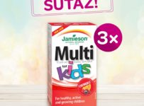 Súťaž o vitamíny pre deti Jamieson Multi Kids Gummies