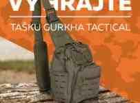 Súťaž o vode-odolnú tašku Gurkha Tactical