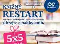 Vyhrajte 5x5 balíkov kníh každý týždeň