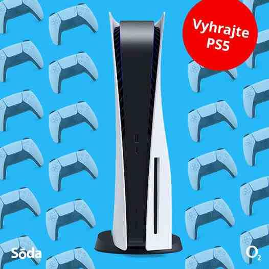 Vyhrajte revolučnú hernú konzolu PlayStation 5