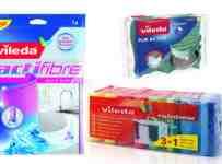 Súťaž o 3 balíčky s mixom handričiek značky Vileda