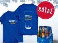 Súťaž o Birell tričko a k tomu sixpack obľúbených pív