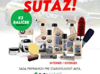 Súťaž o balíček K2 kozmetiky podľa vlastného výberu do 50€