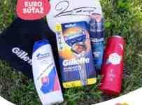 Súťaž o futbalovú loptu s podpisom Roberta Lewandowskeho a výrobky Gillette, OldSpice a Head&Shoulders