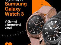Súťaž o inteligentné hodinky Samsung Galaxy Watch 3