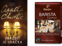 Súťaž o knihu a kávu Tchibo Espresso Barista a poukážku Tchibo