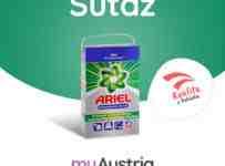 Súťaž o prací prášok Ariel Professional z Rakúska
