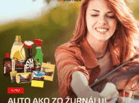 Súťaž o produkty SHERON na umývanie a dokonalý lesk