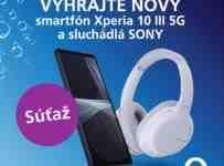 Súťaž o smartfón SONY Xperia 10 III 5G so SONY slúchadlami