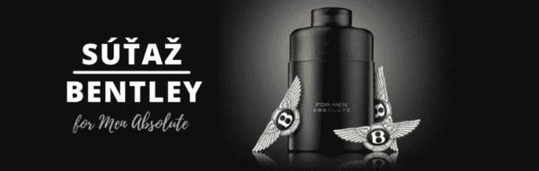 Súťaž o vôňu Bentley for Men Absolute