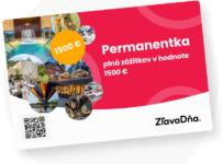 Vyhrajte permanentku plnú zážitkov v hodnote 1500€