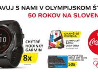 Oslavuj s nami v olympijskom štýle 50 rokov na slovensku
