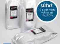Súťaž o 10x 1 kg skvelej zrnkovej kávy