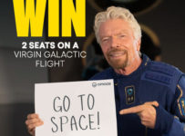 Súťaž o 2 miestenky na let do vesmíru s Virgin Galactic