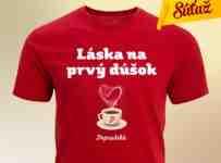 Súťaž o 25 tričiek Popradská káva