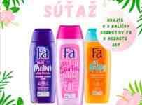 Súťaž o 3 balíčky kozmetiky Fa v hodnote 30€