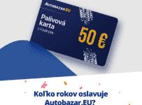 Súťaž o 50 € palivovú kartu