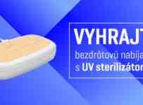 Súťaž o bezdrôtovú nabíjačku so sterilizátorom