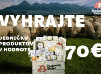 Súťaž o debničku výrobkov EKO farma Važec