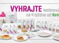 Súťaž o ketónovú diétu na 4 týždne od KetoMixu