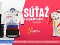 Súťaž o originálny dres tímu COFIDIS