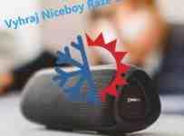 Súťaž o prenosný reproduktor Niceboy RAZE 3 Atom