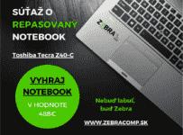 Súťaž o repasovaný notebook