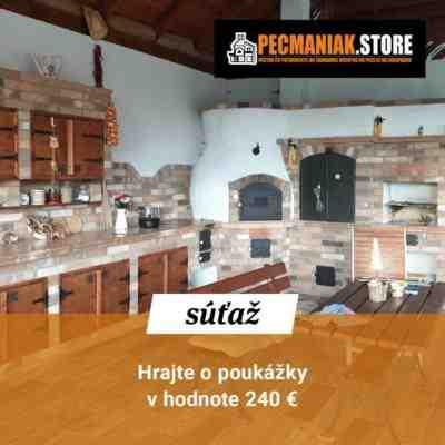 Súťaž s Pecmaniak o poukážky v hodnote 240€