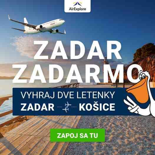 Súťaž o 2 letenky na august do Chorvátska